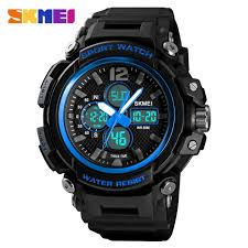 SKMEI Men Dual Display Digital <b>Watch</b> Quartz Chrono Clock <b>Sport</b> ...