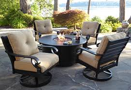 fire pits chat sets balcony furniture miami