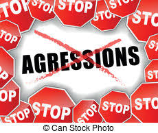 Image result for STOP AGGRESSION