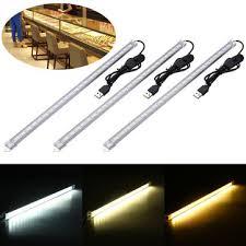 35cm 7w 24 smd 5630 <b>usb</b> led rigid <b>strip</b> hard bar light tube lamp ...