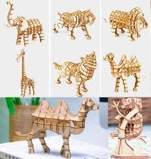 Online Shop Robotime wooden 3D building model toy assemble ...