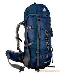 Туристический <b>рюкзак Trek Planet Colorado</b> 65 синий/темно-синий