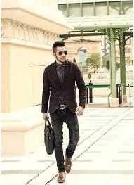 <b>Men's Autumn Casual</b> Slim Fit Suit Blazer – zorket | Mens street style ...