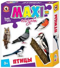 <b>Русский стиль Пазл</b> для малышей Птицы 5 в 1 — купить в ...