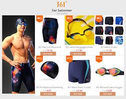 <b>361</b> Mens Swimming Trunks Professional <b>Swimsuit</b> Competitive ...
