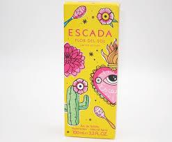 <b>Escada Flor del Sol</b> Eau de Toilette Memories of Old with a Sweet ...