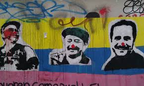 netflix s narcos america s cultural imperialism retells history middot  graffiti of farc leaders tinyurl com z73nogx