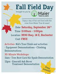 fall field day 26th lunch maier tree lawn blog field day flyer 2015 2 page 001