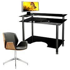 glass computer desk black computer desks