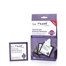 la fresh oil free face cleanser wipes eco beauty waterproof makeup remover wipes 18 packets