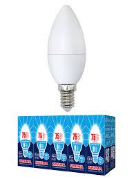 <b>Лампочка Volpe</b> Комплект из 10 светодиодных ламп <b>LED</b>-<b>C37</b>-<b>9W</b> ...