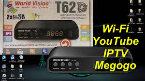 Настройка Wi Fi, YouTube, IPTV, Megogo на Т2 приставке <b>World</b> ...