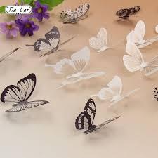 <b>18pcs</b>/<b>набор 3D</b> кристалл <b>бабочки DIY</b> дома стены наклейки для ...