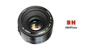 <b>Yongnuo YN 50mm</b> f/1.8 Lens for Canon EF <b>YN50MM</b> 1.8 C B&H ...