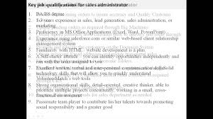 s administrator job description s administrator job description
