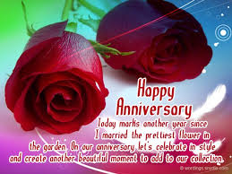Wedding Anniversary Messages for Wife | Wordings and Messages via Relatably.com