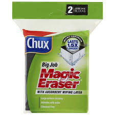 Chux <b>Big</b> Job <b>Magic</b> Eraser 2 Pack | <b>BIG</b> W