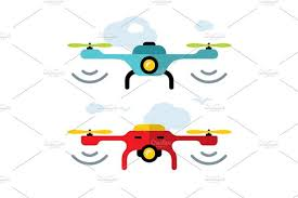 <b>Quadrocopter racing</b> competition in 2020   Illustration, Cartoon ...