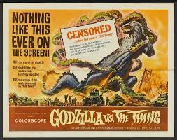 <b>Godzilla</b> vs The Thing (1964) <b>Movie Poster</b> by ClarkSavage on ...