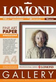 <b>Lomond Fine-Velour Natural</b> White DS - velour texture, А4, 170 gsm ...