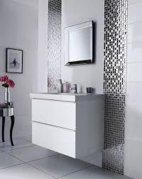 Small Bath Tile Ideas bathroom white mounted wall sink cabinet plus glossy bathroom tile 2505 by uwakikaiketsu.us