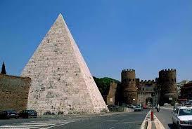 Risultati immagini per piramide cestia
