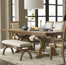 Free Dining Room Table Plans Rustic Dining Room Table With Bench Popular With Photo Of Rustic