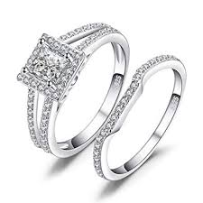 <b>JewelryPalace</b> Engagement Stackable Love Ring <b>925 Sterling</b> ...