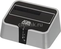 Купить <b>Док</b>-<b>станция</b> для HDD <b>AGESTAR</b> 3UBT2, серебристый в ...