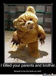Funny Teddy Bear Memes ~ Go Gallery via Relatably.com