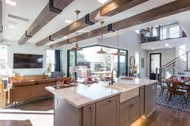 american farm house kitchen interior