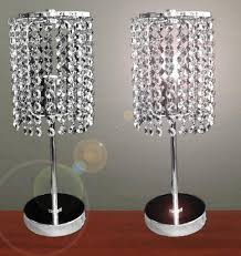 Side Table Lamps For Bedroom Crystal Table Lamps For Bedroom Unique Inspirations Gallery