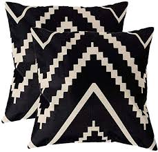 7COLORROOM Modern Geometry Style Throw Pillow ... - Amazon.com