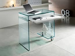 awesome glass corner office desk glass modern full glass desk design awesome corner office desk