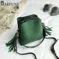 MARFUNY Brand Tassel Shoulder <b>Bag</b> Female Vintage Crossbody ...