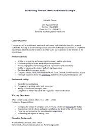 junior finance executive resume financial executive resume resume account executive resume format