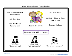 visual behavior poster udl strategies collaborative work visual behavior posters