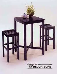 small square kitchen table: square kitchen table sets with stools for small kitchens