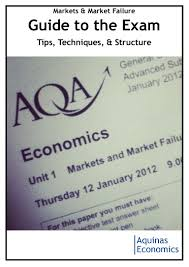 markets market failure exam question guide