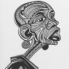 Baba Tjeko's illustrations bring the Sesotho <b>geometric</b> art of Litema ...