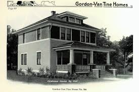 """Gordon Van Tine """"A Well designed Home of Moderate Cost     Gordon Van Tine number was an attractive foursquare"""