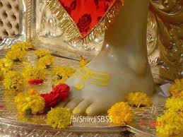 Image result for images of shirdi saibaba lotus feet