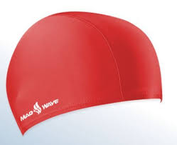 <b>шапочка MADWAVE LYCRA</b> RED JR M052001005W