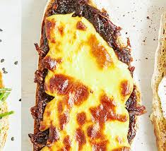 Cheese & <b>onion toast</b> recipe   BBC Good Food
