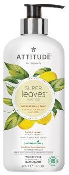 <b>Мыло жидкое Attitude Super</b> leaves Lemon Leaves — купить по ...