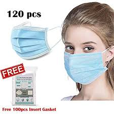 KMBEST <b>Disposable 3</b>-<b>Ply</b> Face <b>Mask</b> Antiviral Medical Surgical ...