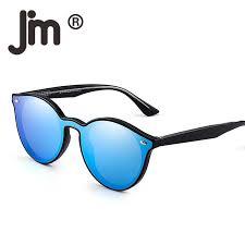 <b>JM Wholesale 10pcs</b>/<b>lot</b> Round Rimless Polarized Mirrored ...