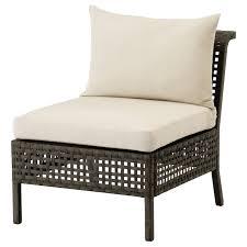 <b>КУНГСХОЛЬМЕН</b> Садовое легкое кресло, черно-коричневый ...