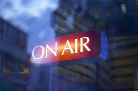 Image result for pics on radio interview