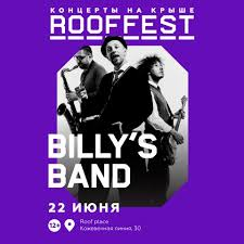 <b>Billy's Band on</b> the ROOF MUSIC FEST on June 22 in Saint ...